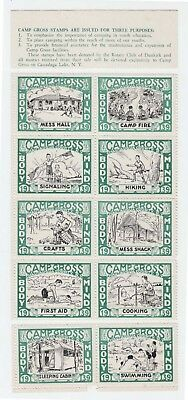 Boy Scouts USA 1939 10 green stamps perf.