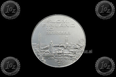 FINLAND 10 MARKKAA 1971 ( ATHLETIC CHAMPIONSHIP ) SILVER Comm. Coin (KM# 52) XF+