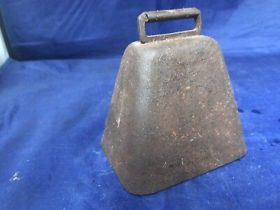 Vintage Metal Cow Bell Great Sound