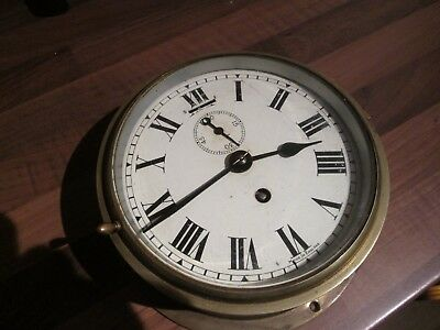 Vintage Smiths Astral Marine Ships Clock Good Condition £75 Ovno
