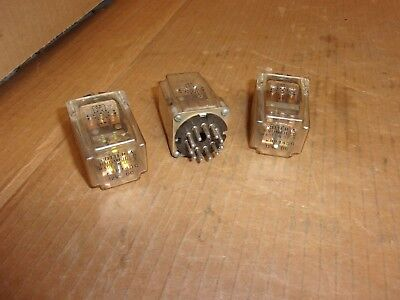 Potter & Brumfield KRP14DG 12 VDC Relay , lot of 3