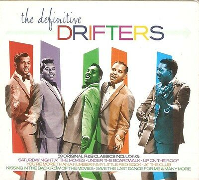 The Drifters - The Definitive Drifters (2xCD 2003) Card Slipcase