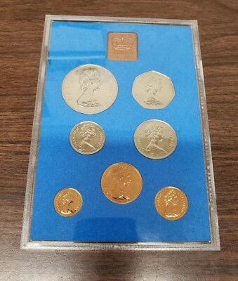 Coinage of Great Britain and Northern Ireland 1972 7 Piece Proof Set