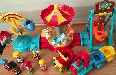 Elc Early Learning Centre Happyland Funfair Circus Rides Figures