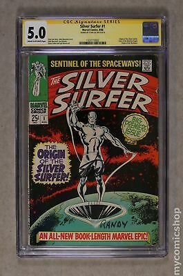 Silver Surfer (1968 1st Series) 1 CGC 5.0 SS Stan Lee 1323110002