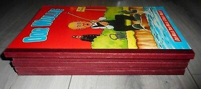 Lot Of 5 Oor Wullie Books , 1980 To 1992., Lovely Books.