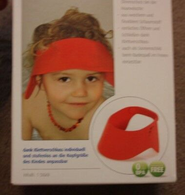 Neu! Reer Verstellbarer Shampoo Schutz Eyes and Ears Protection for Babies