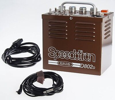 Speedotron Brown Line D802D 800WS Sysmmetrical Four Port Power Pack D802 D