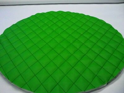 """Semi Truck Fuel Tank Covers Lime Green Set Of 2 Choice 23"""" 24 1/2"""" 26"""" Quilted"""