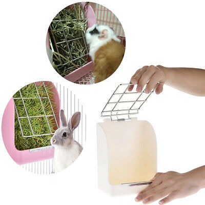 Hay Feeder Less Wasted with Hay Rack Manger for Rabbit Guinea Pig Chinchilla Hot