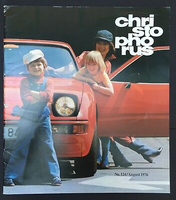 Porsche Christophorus Magazine #124 Aug. 1976   (911 914 924)
