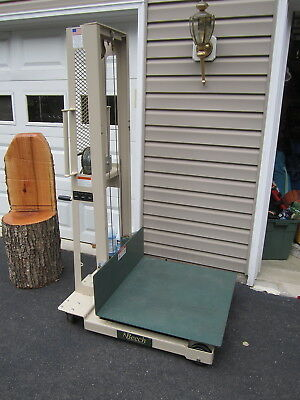 Beech Lift Truck / winch platform stacker (awesome condition!)