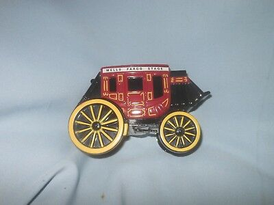 Wells Fargo & Union Trust Co Metal Stage Coach Bank