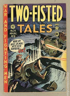 Two Fisted Tales (EC) #24 1951 VG 4.0