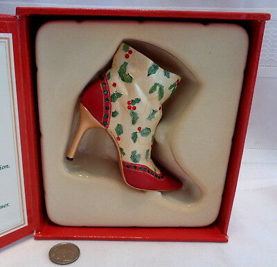 ~Just The Right Shoe! Deck The Heels 5th Annual Christmas Shoe! 2005! MIB! L@@K~