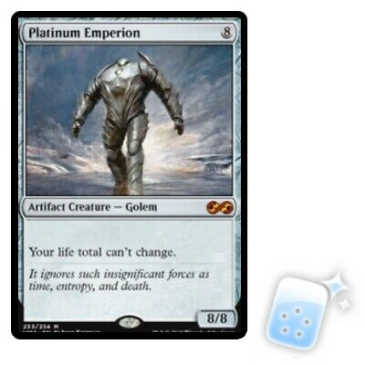 PLATINUM EMPERION Ultimate Masters Magic MTG MINT CARD