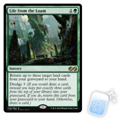LIFE FROM THE LOAM Ultimate Masters Magic MTG MINT CARD