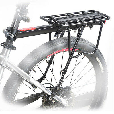OUTERDO Bike Quick Release Luggage Seat Post Pannier Carrier Rear Rack