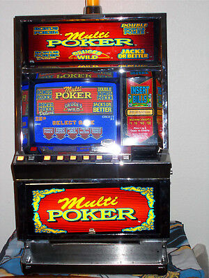 Igt Pe+  Multi-Game Video Poker Slot Machine...excellent Condition!
