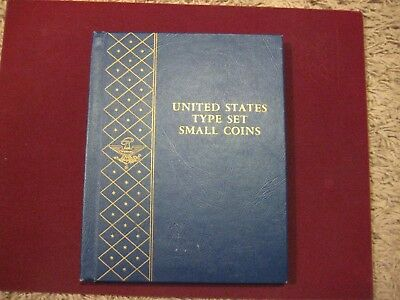#9434  US Type Set Albums For Small Coins excellent condition