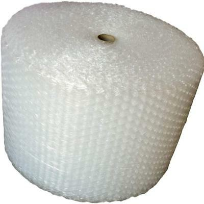 """50 Foot Bubble Cushioning Wrap, 1/2"""" (Large) Bubbles, 12"""" Wide, Perforated Every"""