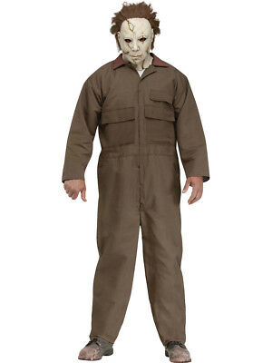 Adult's Mens Deluxe Halloween Classic Slasher Villain Michael Myers Costume