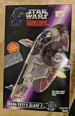 Slave 1 I 1996 Power of the Force STAR WARS Shadows of the Empire POTF SOTE NIB
