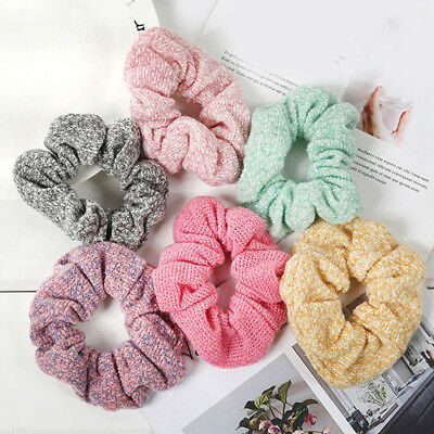 Hair Scrunchies Elastic Bobble Scrunchie Ladies Girls Sports Gymnastics Scrunchy