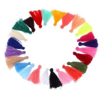 100X Cotton thread Tassels Fit DIY Charm Pendant Tassels Jewelry makeing 30mm