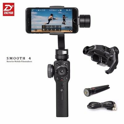 Zhiyun Smooth 4 3-Achsen Gimbal Stabilizer Handheld for iPhone X 8 7 6S  Android