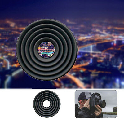 Silicone Lens Hood Anti-reflective For Camera Photography Outdoor Indoor New UK