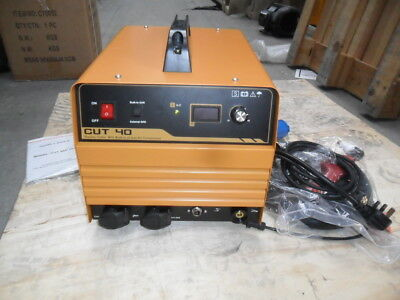 PLASMA CUTTER CUT 40 with built in air compressor new