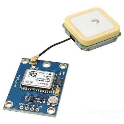 GY-NEO6MV2 NEO-6M Ublox Flight Controller GPS Module For Arduino Raspberry Pi