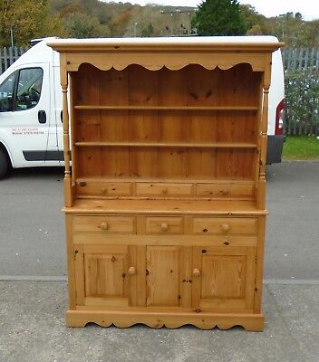 Nice Solid Pine Welsh Dresser       Delivery Available