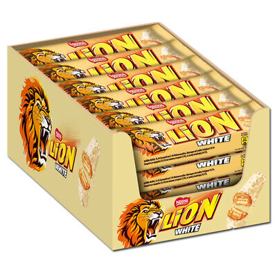 (8,90€/1kg) Nestle Lion White, Riegel, Schokolade, 24 Riegel