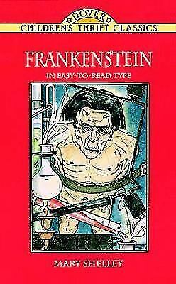 The Story of Frankenstein (Dover Children's Thrift Classics) by Shelley, Mary, G