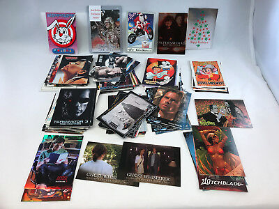 PROMO CARDS GIGANTIC BULK LOT: 100 DIFFERENT ALL BRANDS w/ RARE Read Full List E