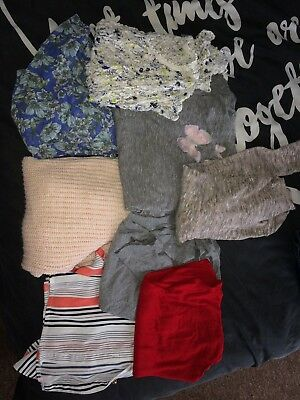 Womens Bundle Tops Size 10 And 12
