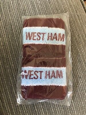 Old Coffer West Ham United Wristbands / Sweatbands 80's / 90's