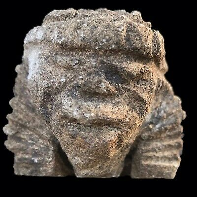 Ultra Rare Stone Age Ancient Neolithic Anthromorphic Vinca Bust, 4500Bc (3)
