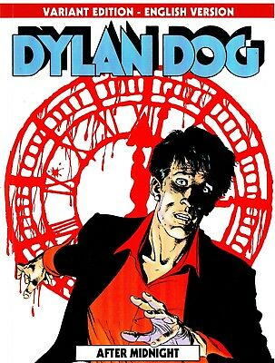 DYLAN DOG n.26 Variant Edition English Version - After Midnight - Lucca 2018