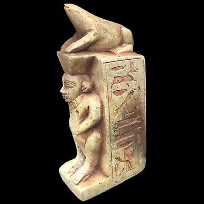 Beautiful Ancient Egyptian Statue 300 Bc (2) Large !!!!!