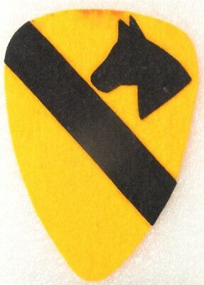 Army Patch: 1920's - 1st Cavalry Division, felt on felt COPY