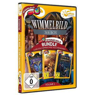 Wimmelbild 3er Box Volume 1 PC Alchemy Mysteries Sisters Secrecy NEU&OVP