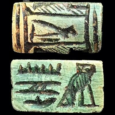 Beautiful Ancient Egyptian Amulet 300 Bc (18)