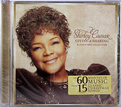 Shirley Caesar Giving & Sharing A Christmas Collection NEW CD 15 Classic Songs