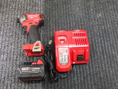 MILWAUKEE 2760-20 M18 FUEL SURGE 1/4 In. Hex Hydraulic Impact Driver 5.0 AH Kit