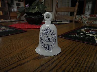 Happy Birthday Bell House of Goebel Bavaria West Germany NEW WITHOUT BOX 4-1/4""