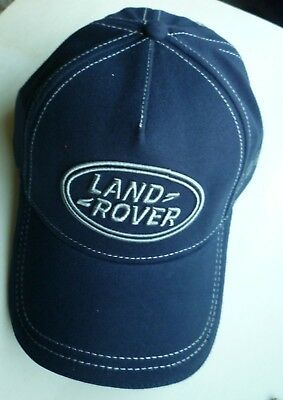 Land Rover Baseball Hat Cap Dark Blue Adjustable Dealer Give-Away New