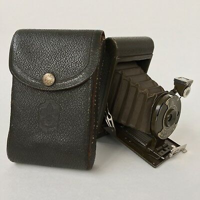 Vintage Kodak Official Boy Scouts (Bsa) Folding Camera - Very Nice